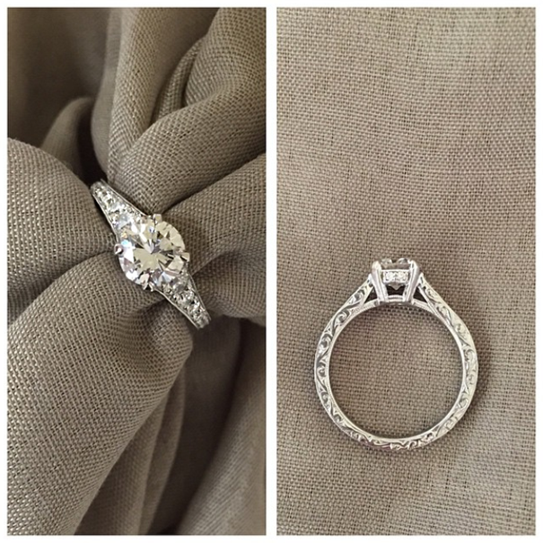 Vintage Engagement Rings Custom