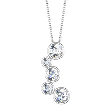 Diamond Journey Necklace Pendant