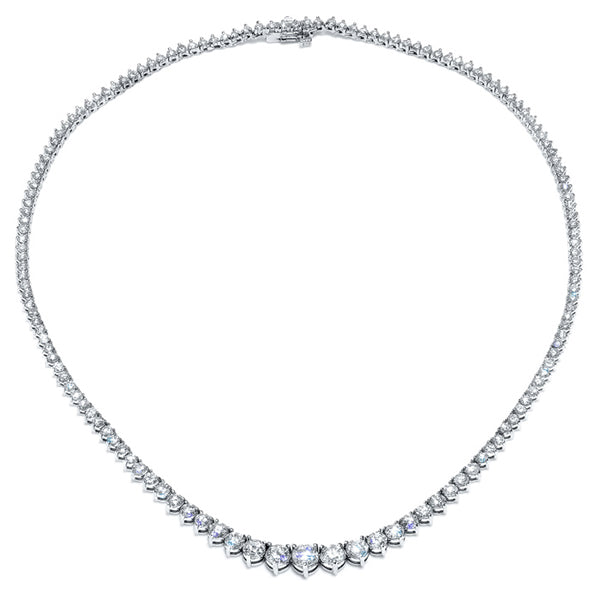 Graduating Diamond Necklace