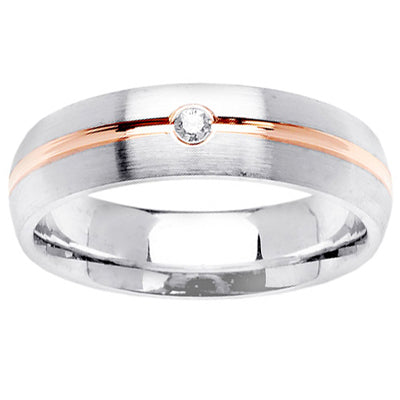 Men's Wedding Rings with Diamonds
