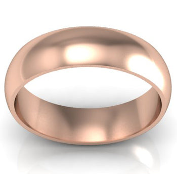 Men's Rose Gold Wedding Bands