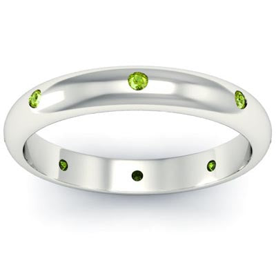 Birthstone Eternity Rings August