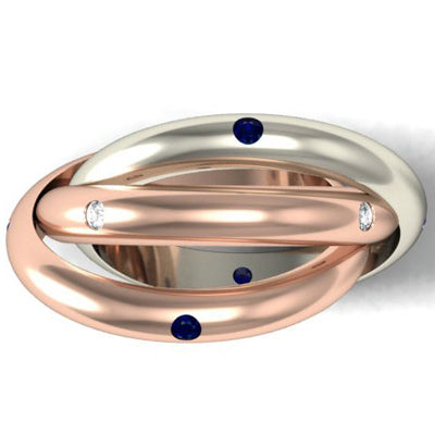 Rolling Anniversary Rings