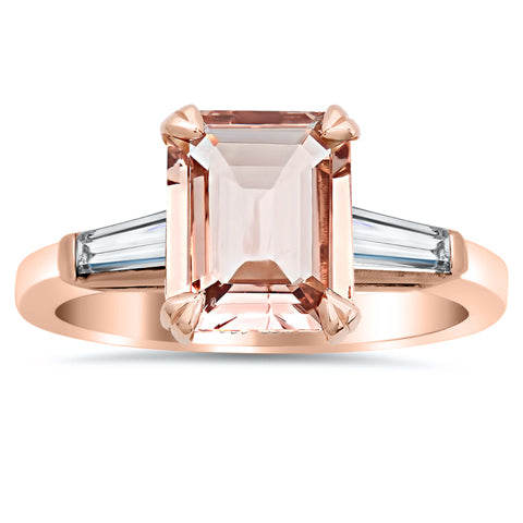 emerald-cut-morganite-and-baguette-three-stone-engagement-ring