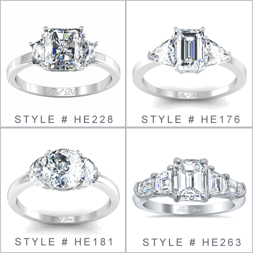 Engagement Rings Three Stone