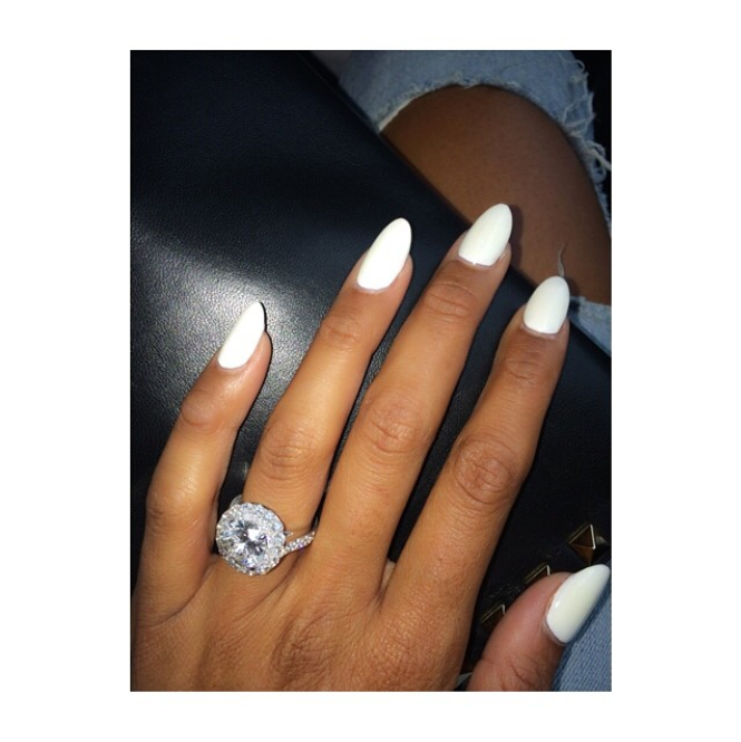 Eniko Parrish engagement ring