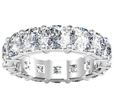 Cushion Cut Eternity Ring