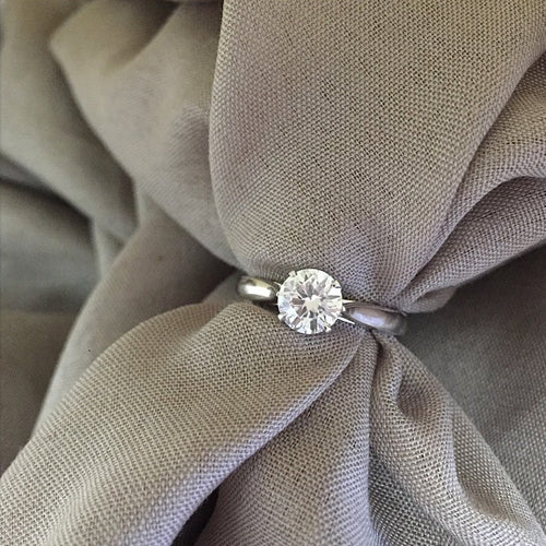 Forever Brilliant Moissanite Solitaire Engagement Rings