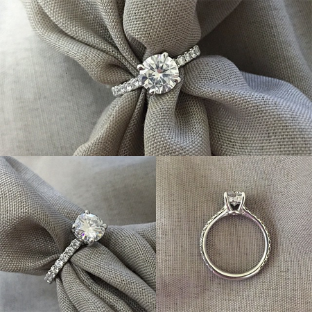 Forever One Engagement Rings