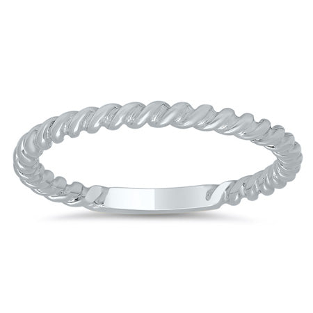 Plain Stackable Rings