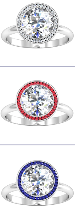 Halo Engagement Ring Options