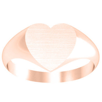 Heart Signet Rings for Women
