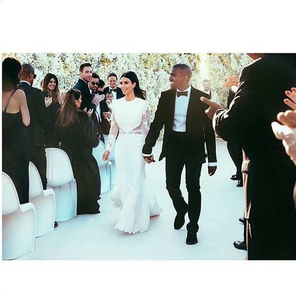 Kimye marriage