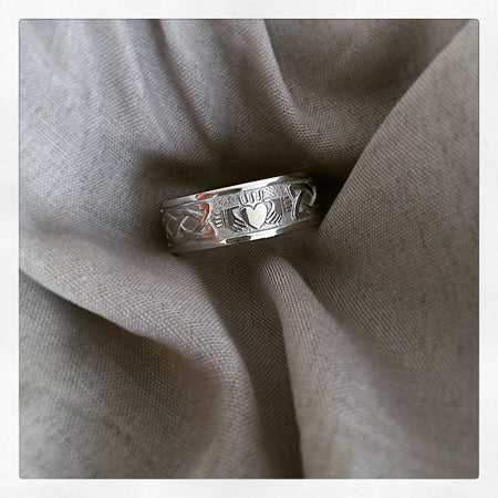 Custom Men's Wedding Band