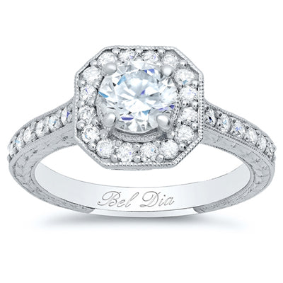 Diamond Alternative Engagement Ring