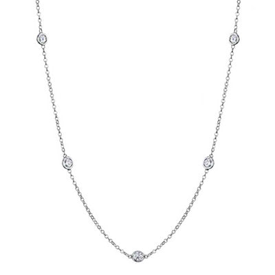 moissianite-station-necklace-with-4mm-forever-one