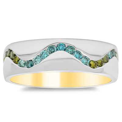 Nature Inspired Eternity Ring