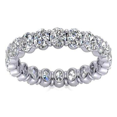 Oval Forever One Moissanite Eternity Ring