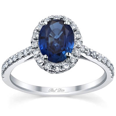 September Birthstone Engagement Ring