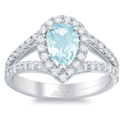 Birthstone Engagement Rings March