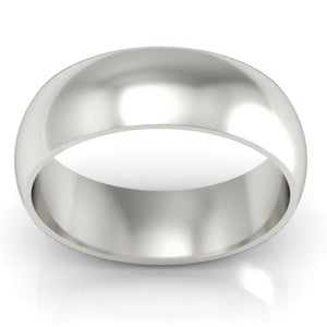 Plain Men's Wedding Band