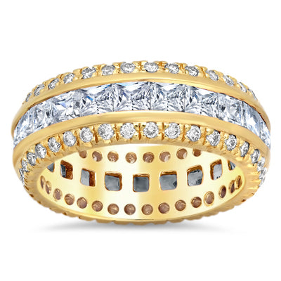 Diamond Rings for Her Yellow Gold