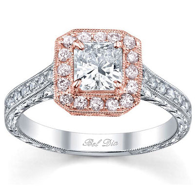 princess-rose-gold-halo-engagement-ring-with-pink-diamonds