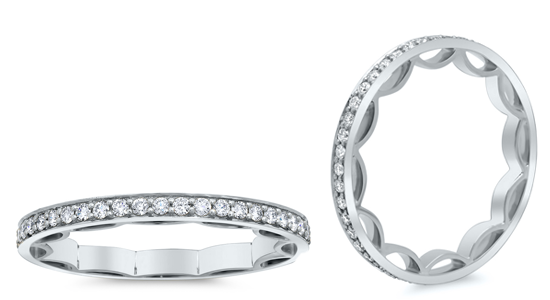 Modern Eternity Rings