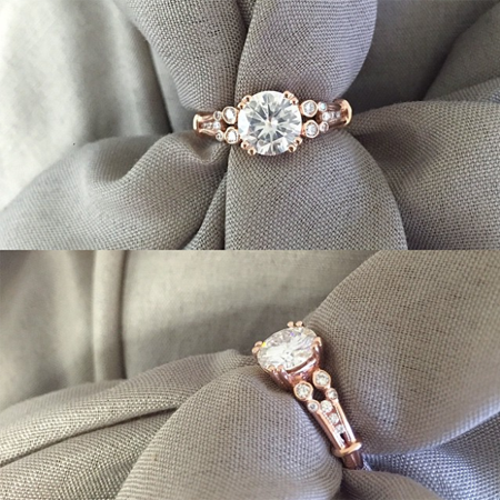 Forever One Engagement Ring