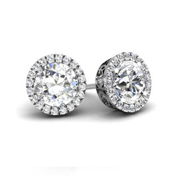 round-forever-one-moissanite-round-halo-earrings