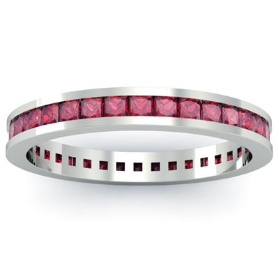 Ruby Eternity Bands