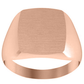 Square Women's Signet Rings