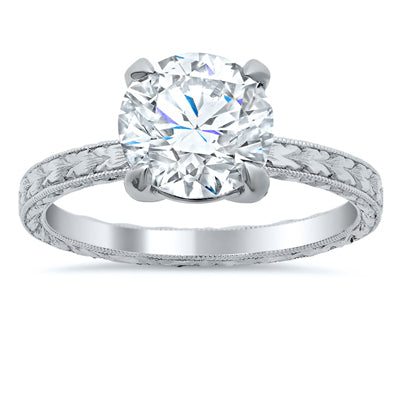 Forever One Solitaire Engagement Rings