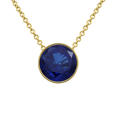 September birthstone necklaces