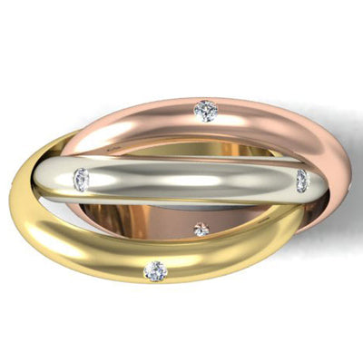 Diamond Rolling Ring