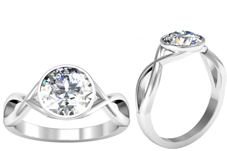New Solitaire Engagement Rings