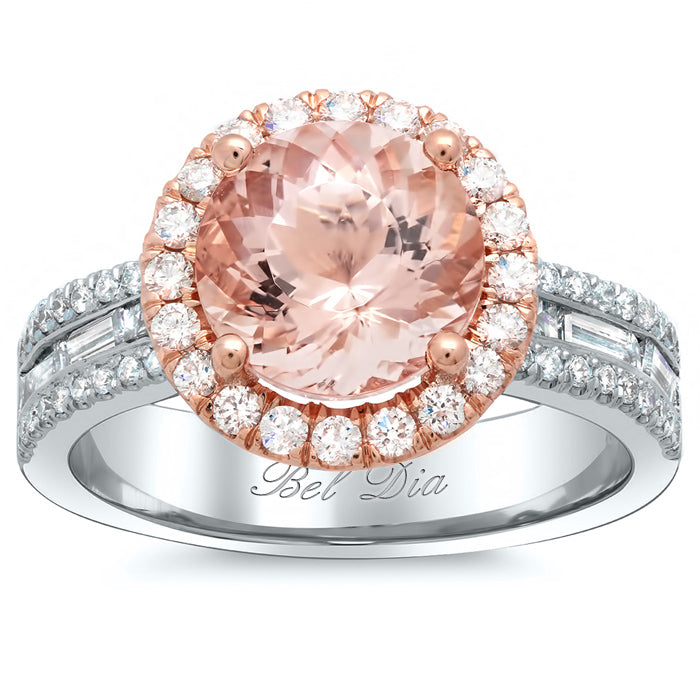 two-tone-halo-rose-gold-engagement-ring-with-morganite-and-baguettes