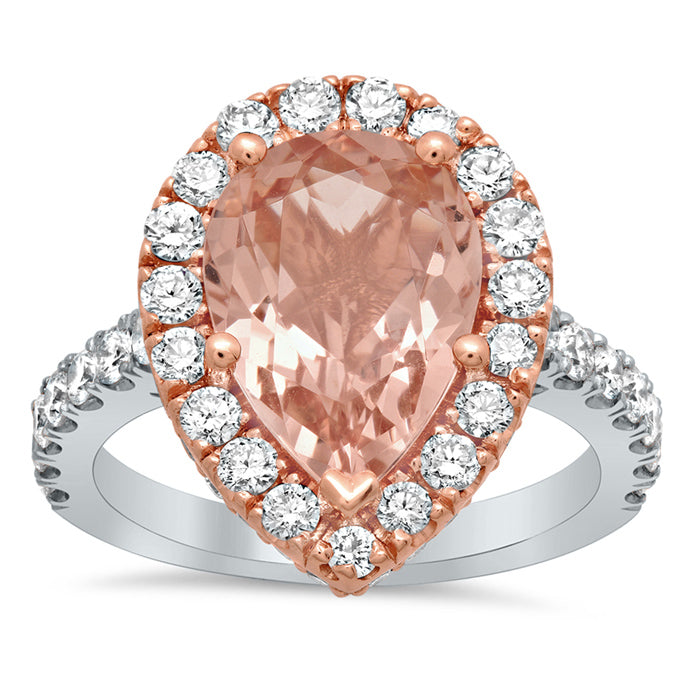 two-tone-morganite-pear-pave-halo-engagement-ring