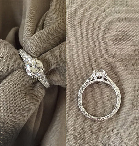Custom Engagement Ring Design