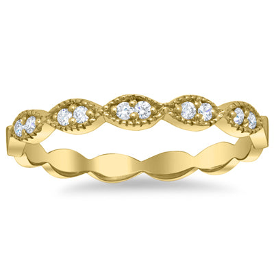 yellow-gold-milgrained-marquise-scalloped-pave-diamond-wedding-ring
