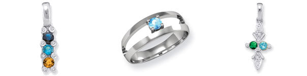 Blue topaz mother's jewelry
