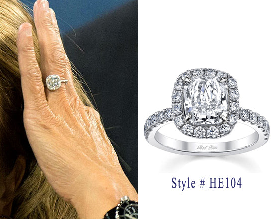 Celebrity Engagement Ring Styles Without The Celebrity Price