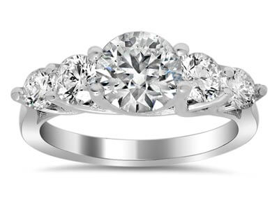 Trellis Engagement Ring Setting