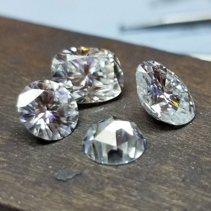 Loose Moissanite by Charles & Colvard and The Harro Gem