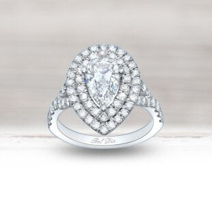Diamond Double Halo Engagement Rings