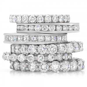 eternity ring stack