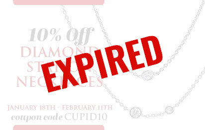 10% Off Diamond Station Necklaces