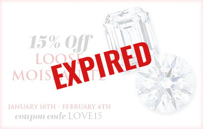 15% Off Loose Moissanite