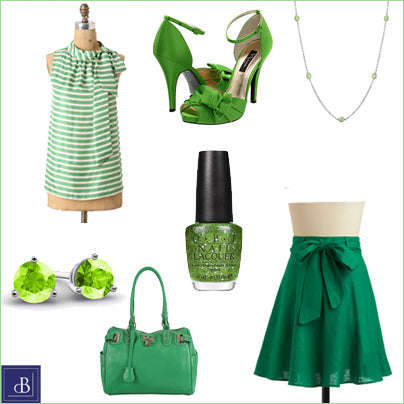 St. Patricks Day outfit green