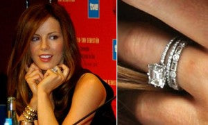 Kate Beckinsale's Engagement Ring